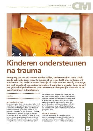 issue kinderen ondersteunen na trauma professioneel begeleidenHoe We Ondersteunen #3